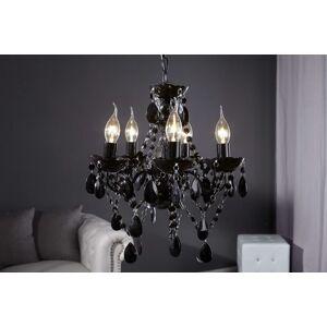 LuxD 16776 Luster Barisimo S čierny závesné svietidlo