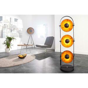 LuxD 17105 Stojanová lampa STAGE čierna Stojanové svietidlo