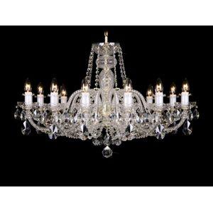 LuxD 17997 Krištálový luster Grande R12-1 závesné svietidlo