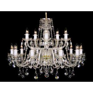 LuxD 17999 Krištálový luster Grande R15 závesné svietidlo