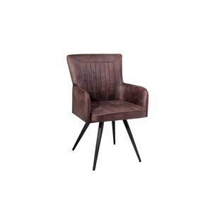 LuxD 18387 Dizajnová stolička Adda hnedá