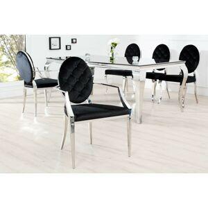 LuxD 18550 Dizajnová stolička Rococo s operadlom
