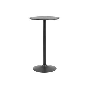 Dkton Barový stôl Neesha čierny