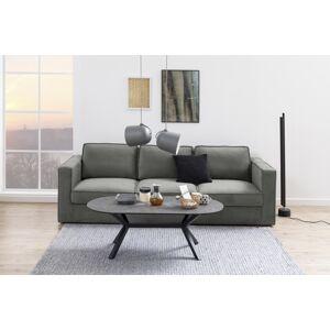 Dkton Dizajnová 3-miestna sedačka Danette 249 cm sivá