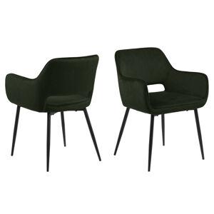 Dkton 23626 Dizajnová jedálenska stolička Nereida, olivovo zelená