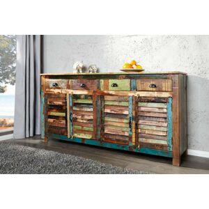 LuxD Dizajnová komoda Jacktar 160 cm recyklované drevo