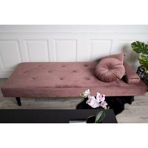 Norddan Dizajnová pohovka Paola, ružový zamat