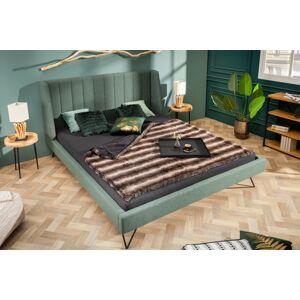 LuxD Dizajnová posteľ Phoenix 180 x 200 cm zelená