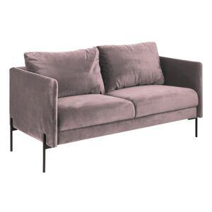 Dkton Dizajnová sedačka Noomi, svetlo ružová