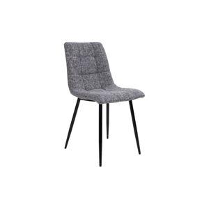 Norddan 24523 Dizajnová stolička Dominik sivá