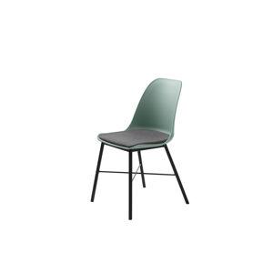 Furniria 24065 Dizajnová stolička Jeffery matná zelená