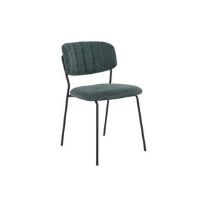 Norddan 24603 Dizajnová stolička Rosalie zelená
