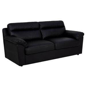 Dkton Dizajnová trojsedačka Darsha 200 cm čierna