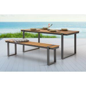 LuxD Dizajnová záhradná lavica Gazelle 180 cm Polywood