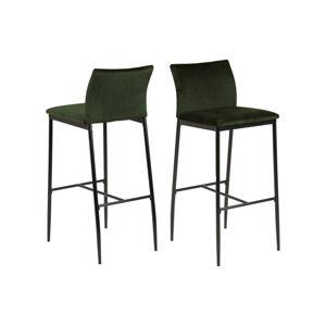 Dkton Dizajnová barová stolička Midena olivová