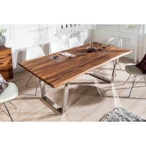 LuxD Dizajnový jedálenský stôl Massive 180 cm sheesham