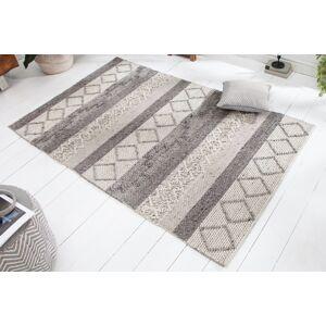 LuxD Dizajnový koberec Rebecca 240 x 160 cm sivý