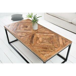 LuxD Dizajnový konferenčný stolík Allen Home 100 cm mango  - RP