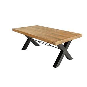 LuxD Dizajnový jedálenský stôl Thunder 200 cm prírodný - borovica
