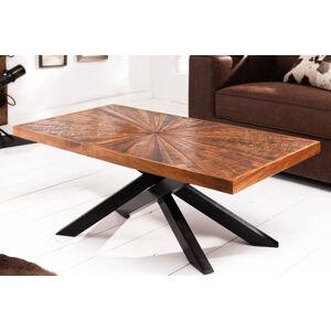 LuxD Dizajnový konferenčný stolík Catalina 105 cm mango