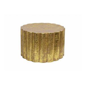 LuxD Dizajnový konferenčný stolík Gwendolyn 60 cm zlatý