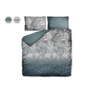 Posteľné obliečky Dreamy Palms Dormeo, 140x200 cm, strieborná