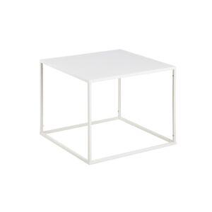 Dkton Elegantný konferenčný stolík Addax, 60 cm, biela