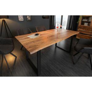 LuxD Dizajnový jedálenský stôl Massive 180 cm divá akácia