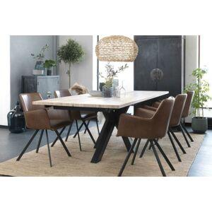 Catalent Dizajnový jedálenský stôl Madie 240 - 340 cm
