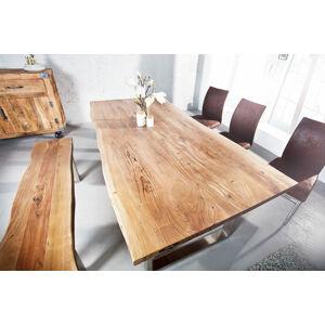 LuxD Jedálenský stôl Massive 180 cm - hrúbka 35 mm - akácia