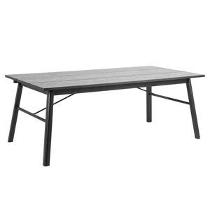 Dkton Jedálenský stôl Nealy 200 cm dub čierny