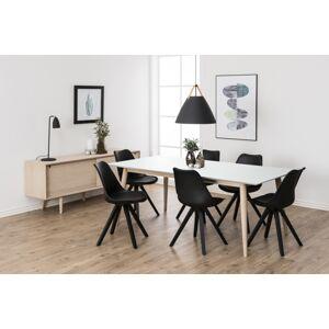 Dkton Jedálenský stôl rozkladací Nadia 200/300 cm biely