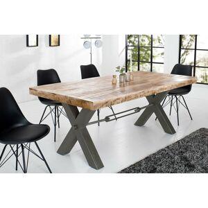 LuxD Jedálenský stôl Thunder 200 cm prírodný - mango