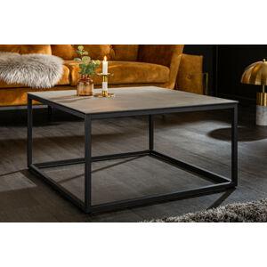 LuxD Keramický konferenčný stolík Sloane 75 cm betón
