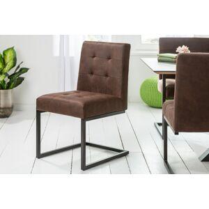 LuxD 24620 Konzolová stolička Cowboy vinatge hnedá