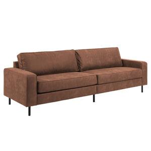 Dkton Luxusná sedačka Nivian, camel 260 cm