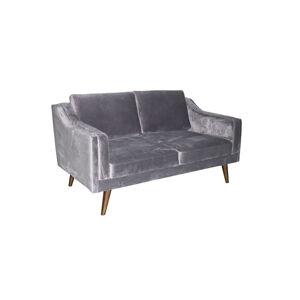 Dkton Luxusná sedačka Nori, tmavo šedá