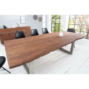 LuxD Luxusný jedálenský stôl z masívu Massive 200 cm / akácia
