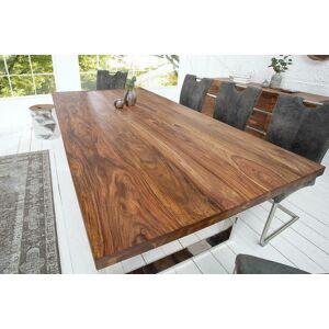 LuxD Luxusný jedálenský stôl Flame 200cm masív