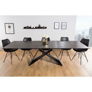 LuxD Rozkladací jedálenský stôl Brock láva 180-260 cm