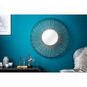 LuxD Dizajnové zrkadlo Caylee L, strieborné  x  21003