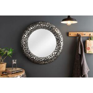 LuxD Dizajnové zrkadlo Mauricio, , strieborné  x  20998