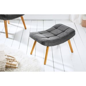 LuxD Dizajnová podnožka Sweden, sivá