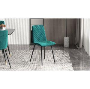 LuxD 24971 Dizajnová stolička Argentinas zelená