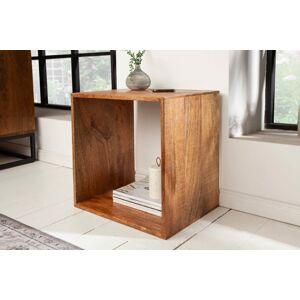 LuxD Odkladací stolík Elegant 43 cm mango