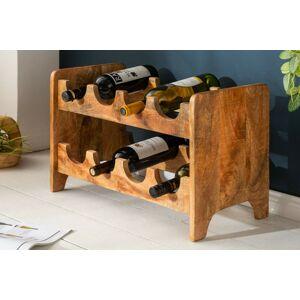 LuxD Regál na víno Winebar 54 cm mango