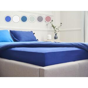 Posteľná plachta Essentials Dormeo, 80x200 cm, modrá